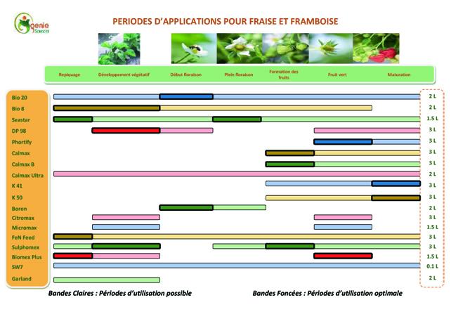 Fertilisation Fraise Framboise